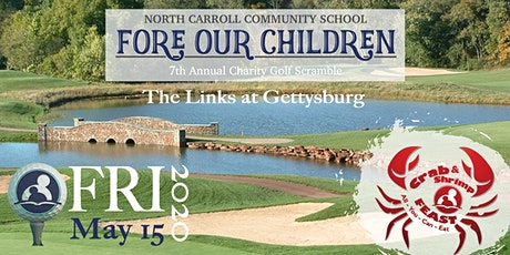 7th Annual Fore Our Children Charity Golf Scramble & AYCE Crab & Shrimp Feast tickets