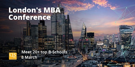 Meet Amazon and other Top Tech Recruiters at QS London MBA Conference tickets