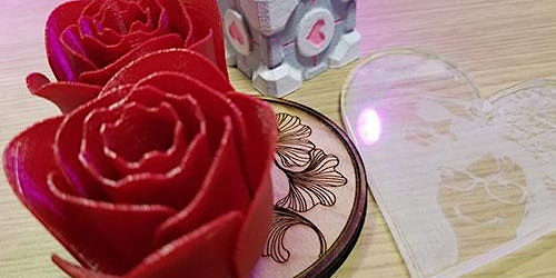 Create a Valentine's Day Gift Using 3D Printing