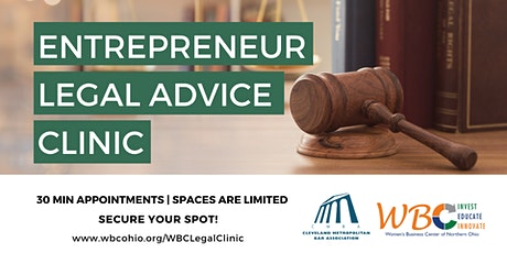 Entrepreneur Legal Advice Clinic tickets