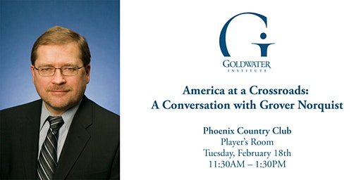 America at a Crossroads: A Conversation with Grover Norquist