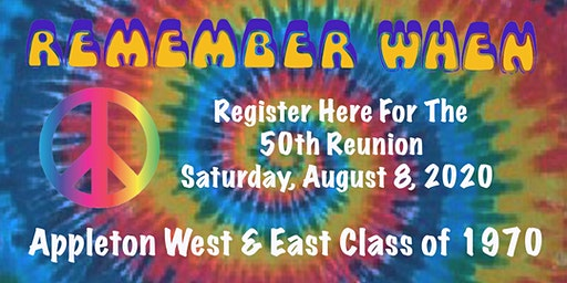 50th Reunion - Appleton East & West Class of 1970