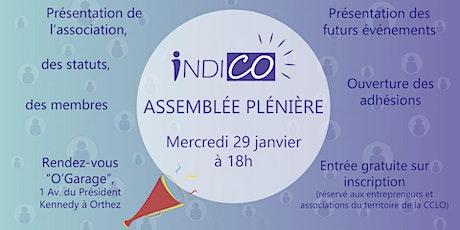Assemblée Plénière de l'association IndiCo billets