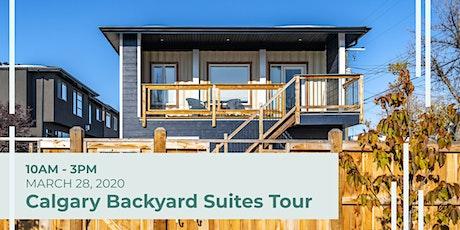 Calgary Backyard Suites Tour tickets