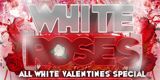 """WAM"" - Red Roses (The All White Valentine's Special)"