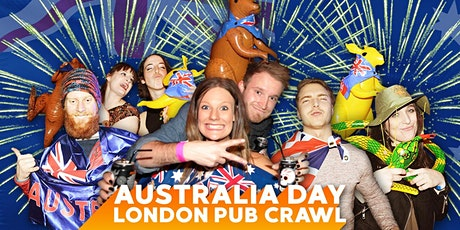 Australia Day Pub Crawl tickets