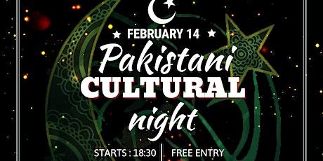 Pakistani Cultural Night tickets