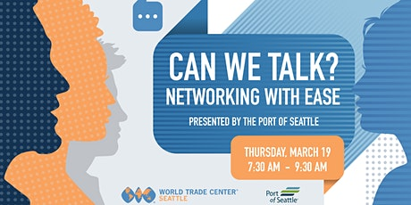 Can We Talk? Networking with Ease tickets