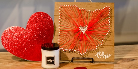 Ohio Love String Art & Candle Pouring tickets