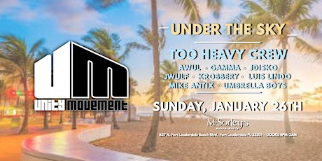 Unity Movement Under The Sky at McSorley's Beach Pub tickets