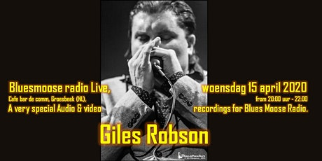Giles Robson live at Bluesmoose Radio (audio & Video recording) tickets