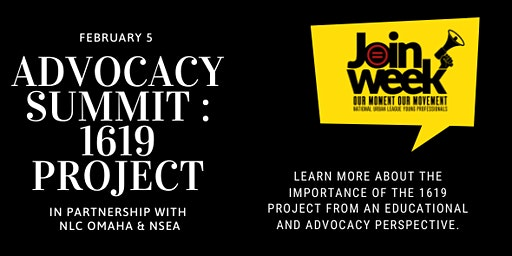 Advocacy Summit - The 1619 Project