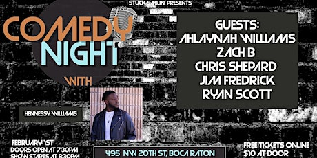 """Comedy night with """"Hennessy Williams"""" at the Artful Dodger tickets"""