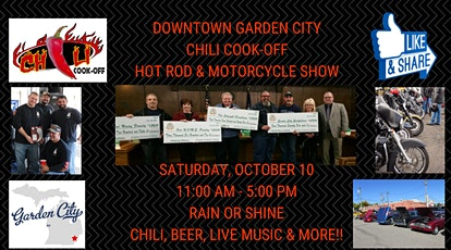 Downtown Garden City Chili Cook Off, Hot Rod & Motorcycle Event tickets