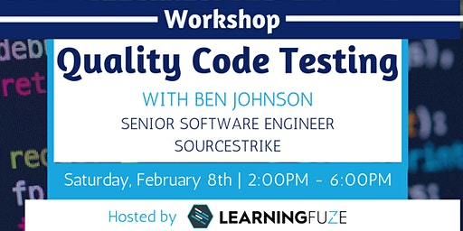 Quality Code Testing with Ben Johnson