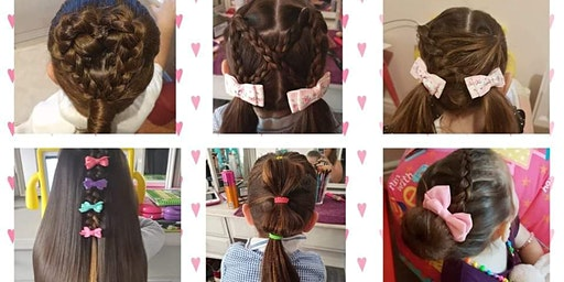 Princess Hairstyles For Dads Workshop - April 2020