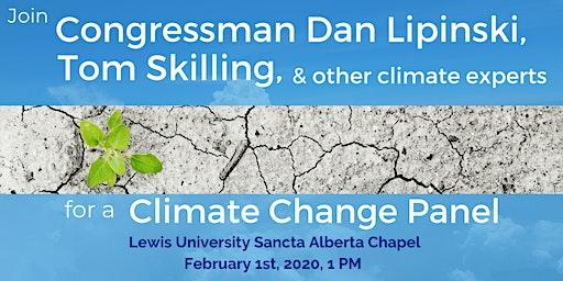 Rep. Dan Lipinski Moderates Climate Change Panel feat.Tom Skilling