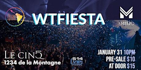 WTFiesta Winter 2020 @ Le Cinq tickets