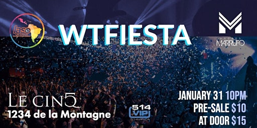 WTFiesta Winter 2020 @ Le Cinq