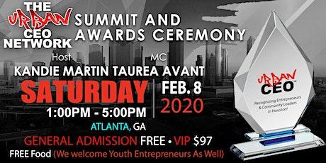 Urban CEO Summit [Atlanta GA] (Free Food & Plenty of Parking) tickets