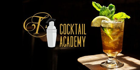 Tattersall Cocktail Academy + 4 Course Dinner by Quince Catering (Spring) Tuesday 5/12/20 tickets