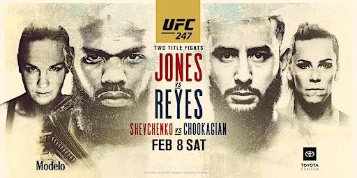 UFC 247 Jones vs Reyes