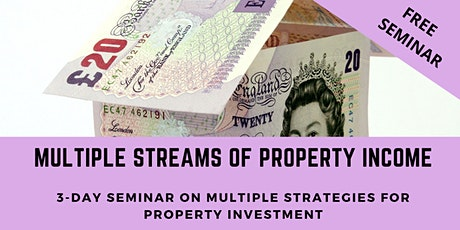 Property Investment Seminar - 3-Days of investment training London tickets