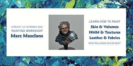 Painting Workshop Marc Masclans   21-22 March 2020 tickets