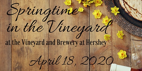 Springtime in the Vineyard Library Benefit tickets