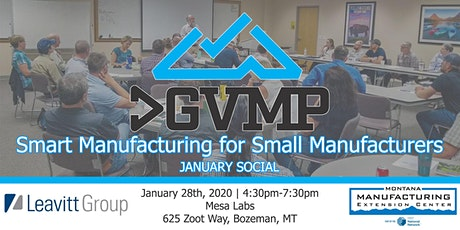 2020 January Social - Smart Manufacturing for Small Manufacturers bilhetes