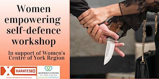 Women Empowerment Self-defence Workshop