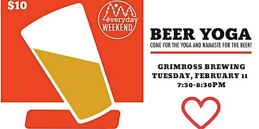 Beer Yoga: Craft Beer Love