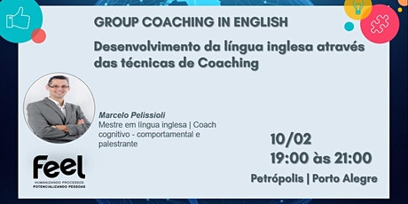 Group Coaching in English – Desenvolvimento da língua inglesa atr ingressos