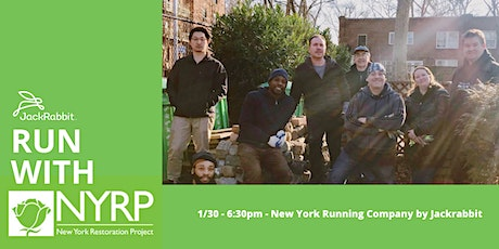 Run with NYRP (New York Restoration Project) tickets