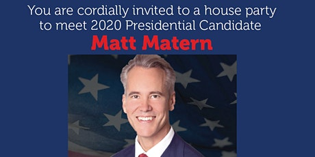 House Party: Matt Matern, Republican candidate for President in Bedford, NH tickets