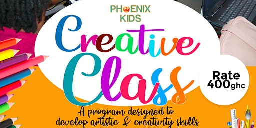 Phoenix Kids Saturday Classes (Creative Design)