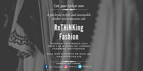 ReTHiNKing Fashion: quality preloved/vintage clothes & accessories sale tickets