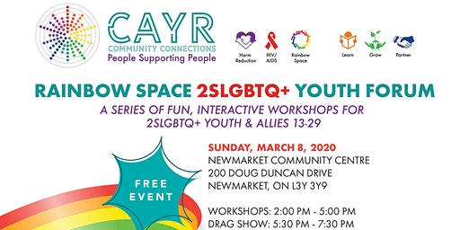 Rainbow Space 2SLGBTQ+ Youth Forum