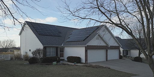 Solar Open House - Houchin Family - Bloomington, IL