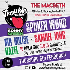 TROUBLE TONGUES 18 tickets