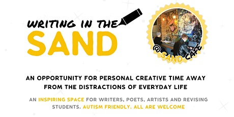 Writing in the SAND: a Day for Personal Creative Time £30 inc food&drink tickets