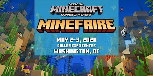 Minefaire, an Official MINECRAFT Community Event (Washington DC)