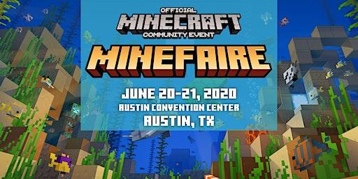 Minefaire, an Official MINECRAFT Community Event (Austin, TX)