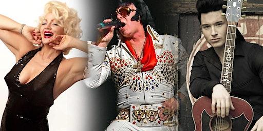 Trio Tribute Event:  Elvis Presley, Marilyn Monroe & Johnny Cash
