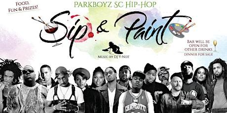 ParkBoyz SC Hip-Hop Sip & Paint tickets