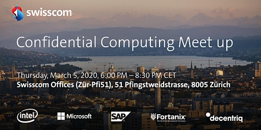 Swisscom - Confidential Computing Meet up