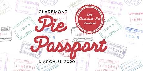 2020 Claremont Pie Festival + Pie Passport tickets