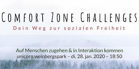 Comfort Zone Challenges // Auf Menschen zugehen & in Interaktion kommen tickets