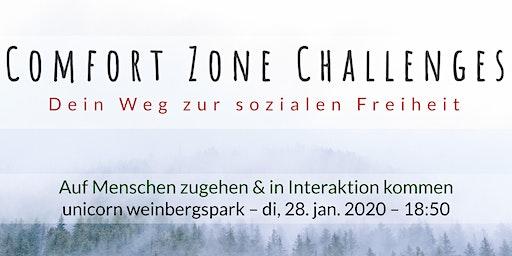 Comfort Zone Challenges // Auf Menschen zugehen & in Interaktion kommen