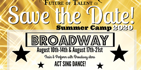 Broadway Camp tickets